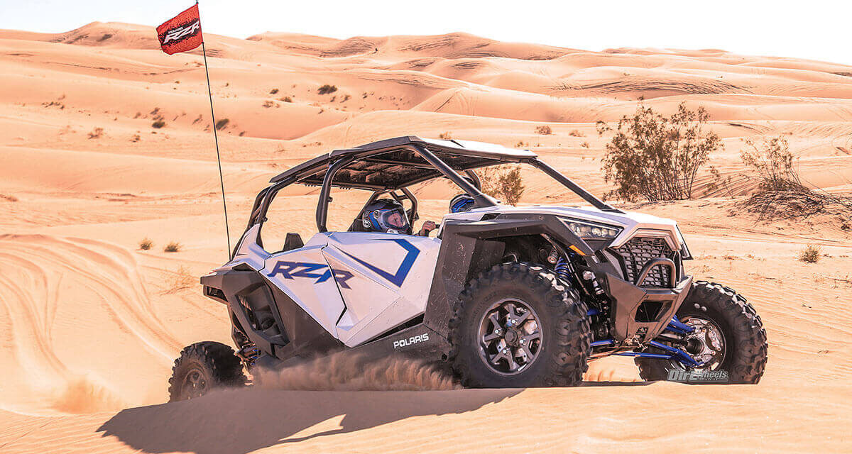 Test 2020 : Polaris RZR Pro XP 4 Premium