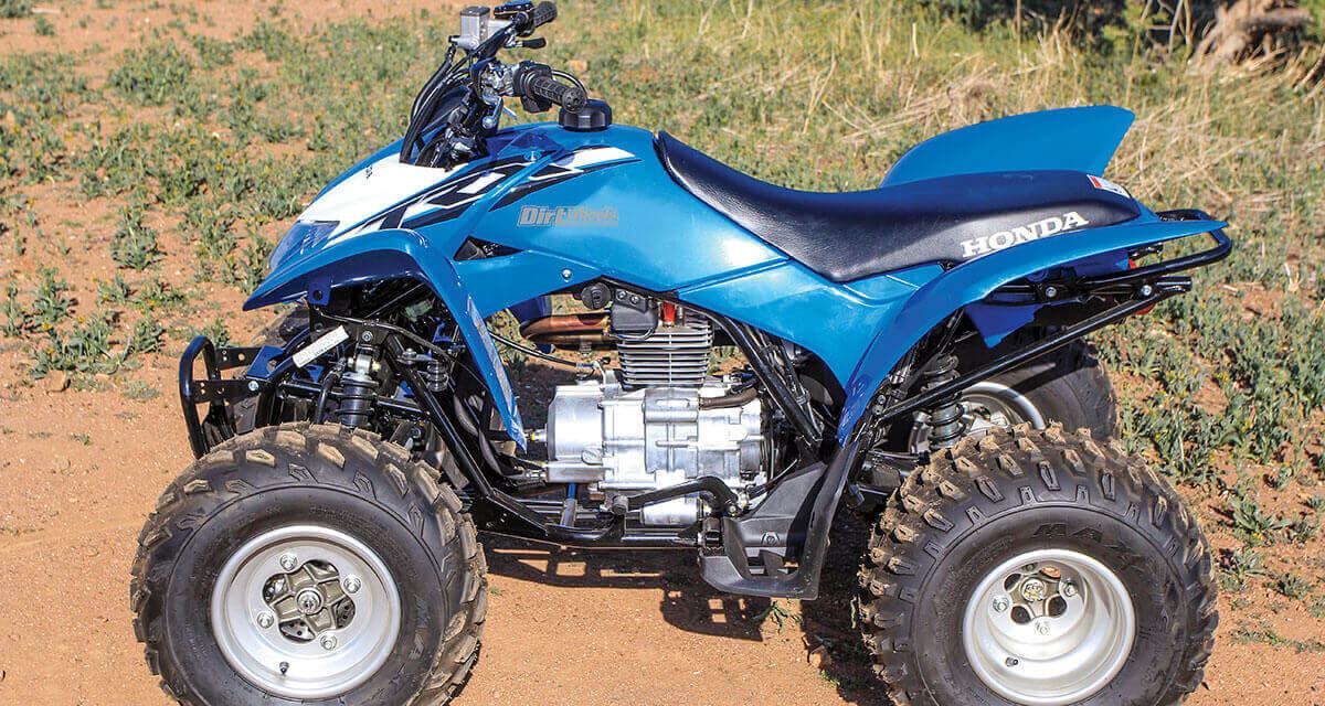 Test 2020 : Honda TRX250X
